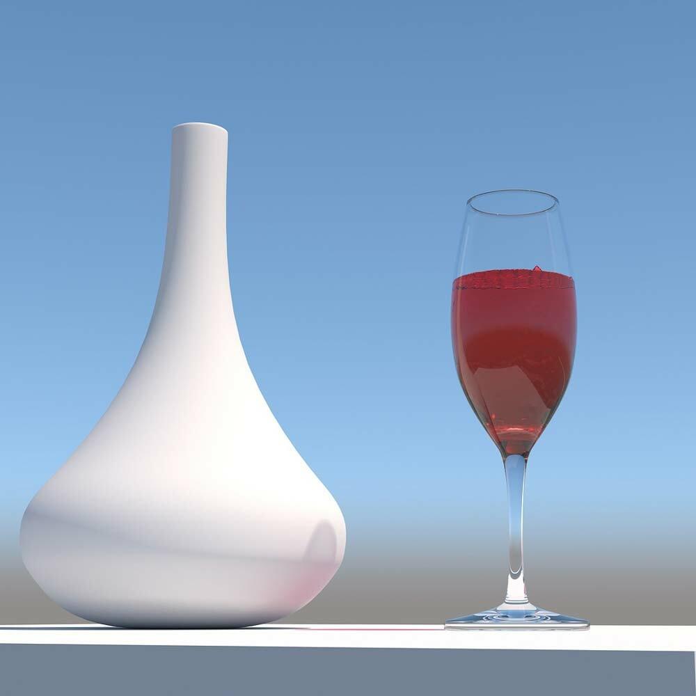 Wein mit kaum Zucker