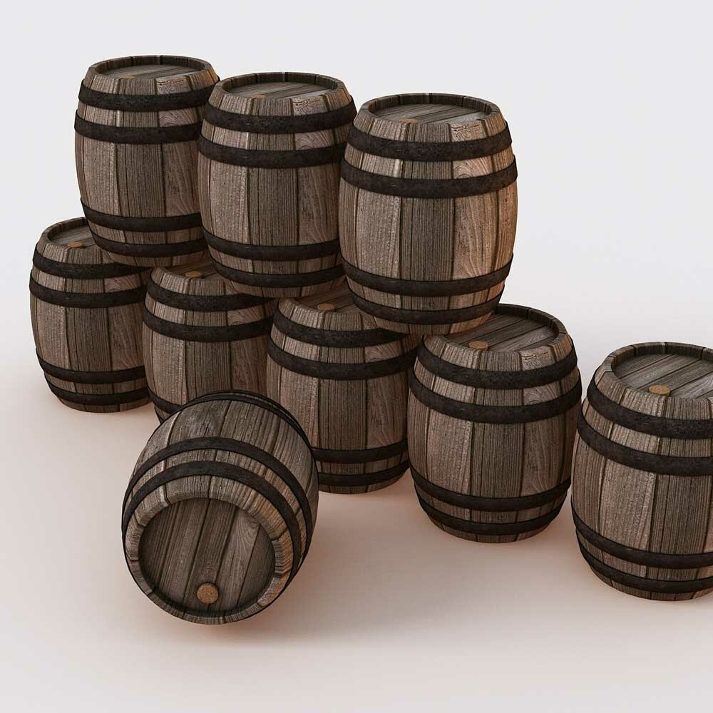 Wein aus Eichenfässern