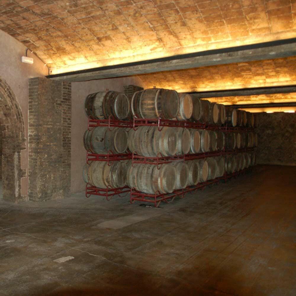Vinifikation von Wein - Keltern