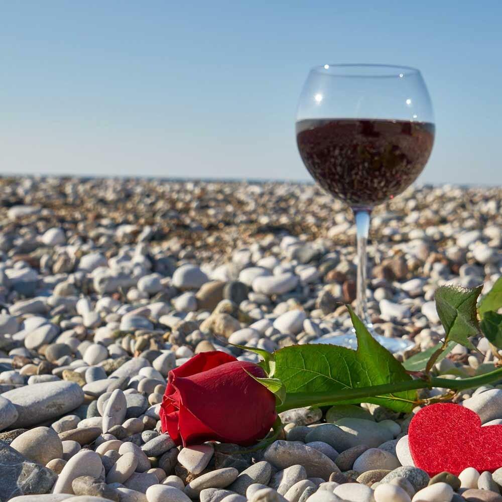 Filterung von Wein durch Kieselgur