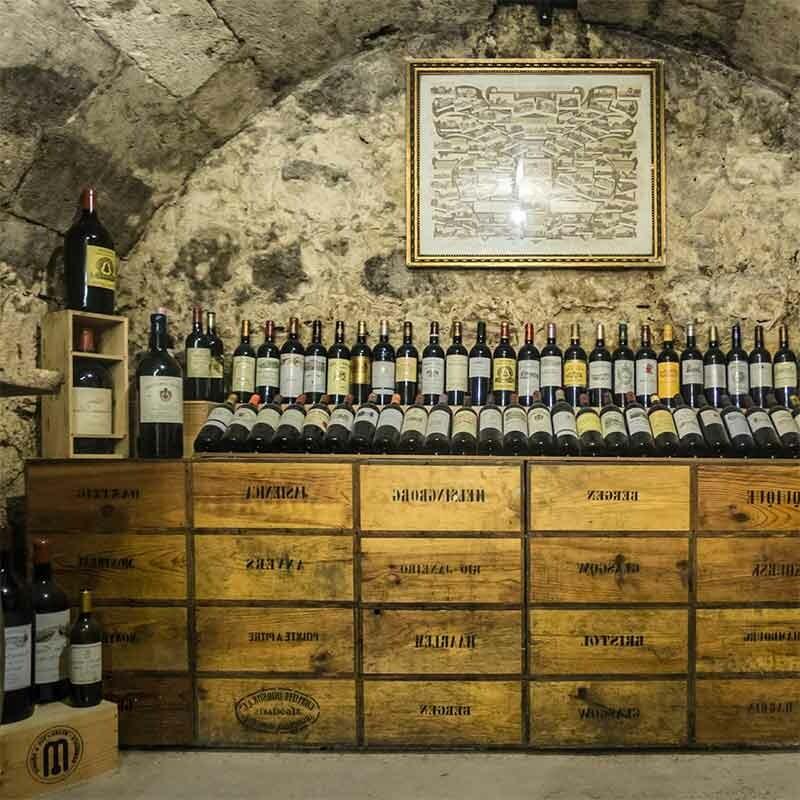Vinifikation von Wein