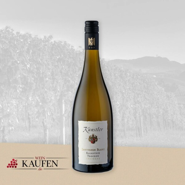 Trockenen Sauvignon Blanc Weißwein vom Weingut Künstler kaufen