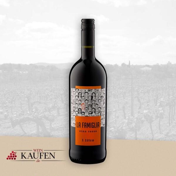 """Vino Rosso """"La Famiglia"""" - 1 Liter - LA FAMIGLIA"""