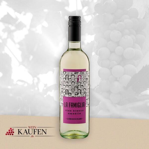 """Vino Bianco amabile """"La Famiglia"""" - LA FAMIGLIA"""