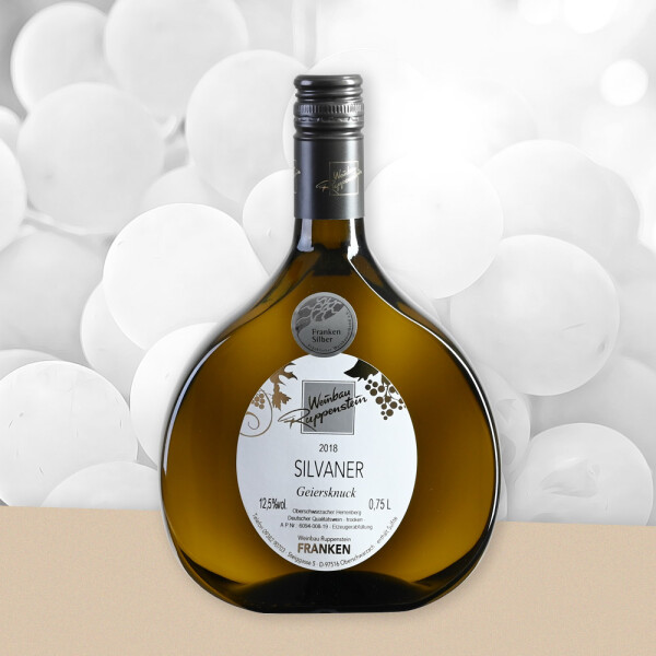 Wein vom Weingut Ruppenstein - Silvaner Geiersknuck trocken