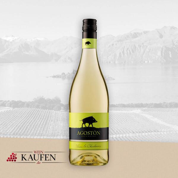 Agostón Chardonnay - Viura DO - Bodegas Paniza