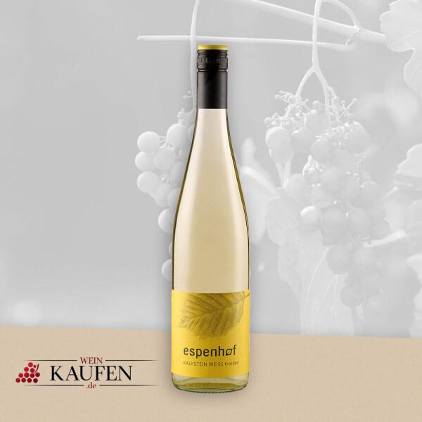 Kalkstein Weiss QbA trocken - Weingut Espenhof
