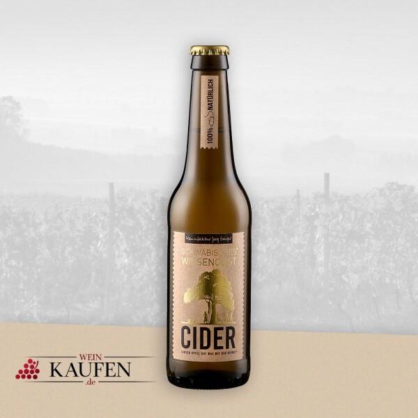 Schwäbisches WiesenObst - Cider demi sec - Manufaktur Jörg Geiger