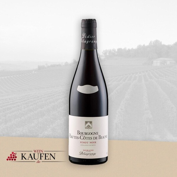 Bourgogne Hautes-Côtes de Beaune Pinot Noir AC - Domaine Henri Delagrange et fils