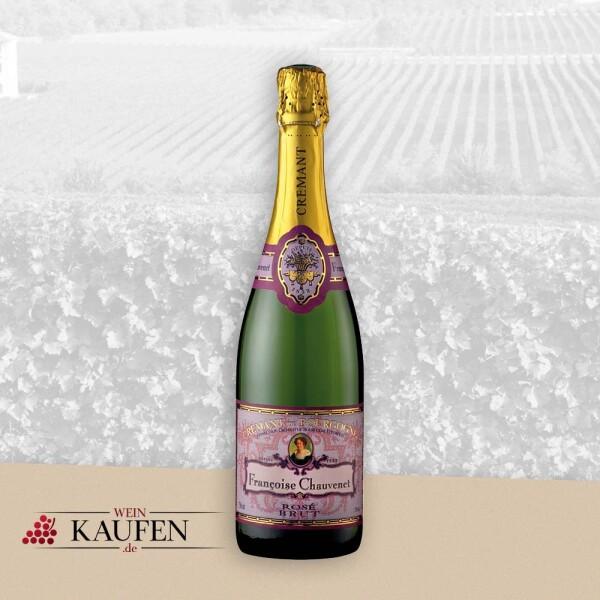 Crémant de Bourgogne Rosé Brut AOC - Francoise Chauvenet