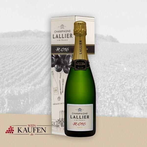 R.016 Brut - in Geschenkkartonage - - Champagne Lallier