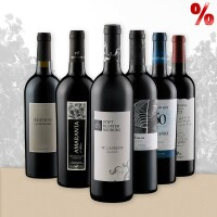 Weinpaket mit internationalen Weinen