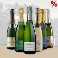 Schaumwein Weinpaket aus Frankreich und Spanien