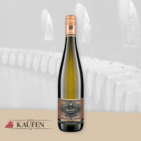 Trockenen 2018er Riesling vom Weingut Wegeler