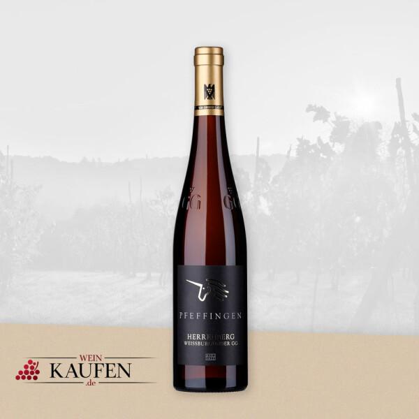 Weißburgunder Weißwein vom Weingut Pfeffingen - Großes Gewächs